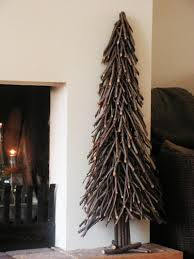20 Unconventional Christmas Tree IdeasWooden Branch Christmas Tree