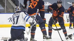 As nahreman issa reports, edmonton oilers fans are raring for stanley cup playoffs game 1. Zyyd Skef2thm