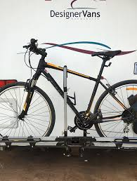 bike rack for designervans caravan and toyota land cruiser sahara