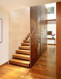 wood slat wall. Another Slat Wall Along A Staircase, This One Is Done Using Smaller Pieces Of Wood. Very Dramatic. (via) Wood