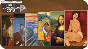 painting comparison 2018 most expensive paintings