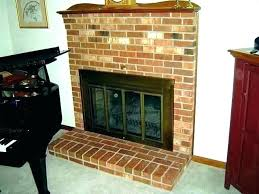 gas fireplace glass doors gas fireplace glass door cleaning