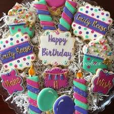 104 Best Birthday Cookies Images In 2019 Decorated Cookies