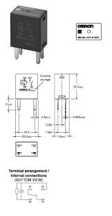 omron ly1n relay wiring diagram wiring diagram and schematic design ptf08a e relay socket for use various omron