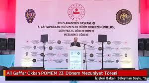 Ali Gaffar Okkan POMEM 23. Dönem Mezuniyet Töreni - Dailymotion Video