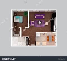 custom home office design stock. Design Kitchen Office Large-size 3d Floor Plan Stock Photos Images Pictures Shutterstock View Of A House Custom Home
