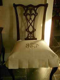 Black Dining Room Chair Covers Custom White Seat Cover For Antique Dining Room Chair Black Dining