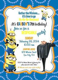 Birthday Invitation Templates Free Download Minion Birthday Invites We Like Design Invitation Templates Free