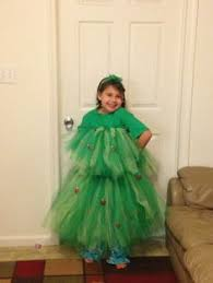 Girls Christmas Tree Dress