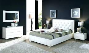 Black And White Bedroom Set Red Gold Gloss Furniture Sets Queen ...