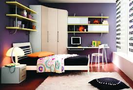 Purple Teenage Bedrooms Furniture Magnificent Purple Teen Bedroom With Teen Loft Bed