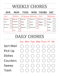 made myself a weekly daily chores check list i can share made myself a weekly daily chores check list i can share anyone that wants to edit this to work for them and their home more