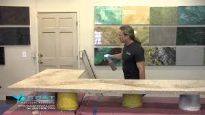 Paint Kitchen Countertops To Look Like Granite How To Make A Concrete Countertop Look Like Granite