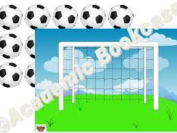 Reward Counting Chart Goal And Footballs