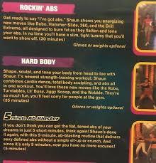 Hip Hop Abs Workout Chart 3 Shaun T Dvd Lot Hip Hop Abs Dance Rockin Hard Body Booty