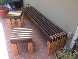 diy contemporary furniture. Inspiring Modern Outdoor Wood Furniture 17 Best Images About Patio Bench On Pinterest Home Diy Contemporary