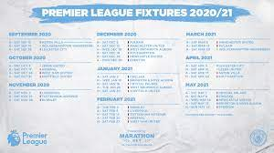 Manchester City - Our 2020/21 Premier League fixtures in full! Which game  do you look for first? 📅