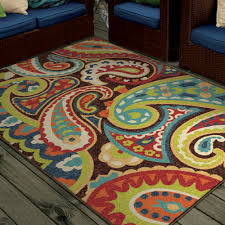 orian rugs paisley monteray multi colored area rug also teal and brown s plush for bedroom large dark living room