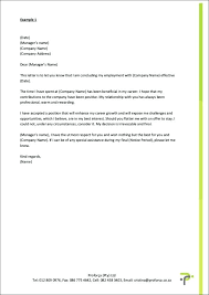 Resignation From The Company 10 Example Of A Letter Of Resignation 1mundoreal