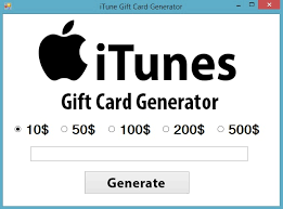 how to get free itunes gift card code generator