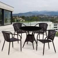 <b>Комплект мебели Афина</b>-Мебель T197AS-Y137B-W51 коричневый