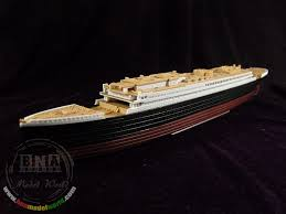 rms titanic wooden deck for academy kit 14214 to enlarge