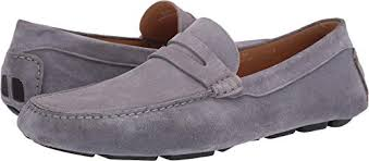 Amazon Com Canali Mens Penny Driver Loafers Slip Ons