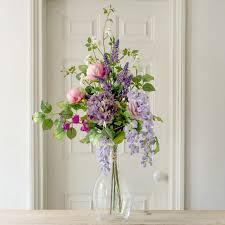 country garden florist. faux flower * english garden bunch country florist