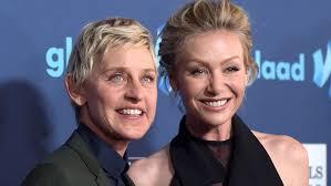 Ellen And Portia Ellen Degeneres Portia De Rossi Have A Puppy Named Kid Todaycom