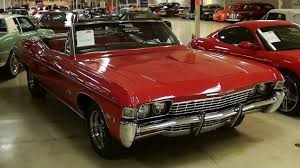 1968 Chevrolet Impala Convertible - YouTube