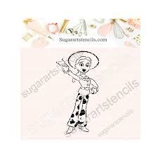 toy story pyo cookie stencil sa0038