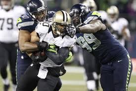 Saints Vs Seahawks Monday Night Football Saints Suffer