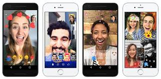 Facebook Video Chart Facebook Messenger Gets Reactions And Filters In Video Chat