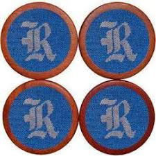 Smathers and Branson Rice University Coasters in Blue
