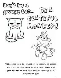 Colossians 3 17 Coloring Page Grumpy