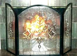 stained glass fireplace screen stained glass fireplace s stained glass fire screen pattern stained glass fire
