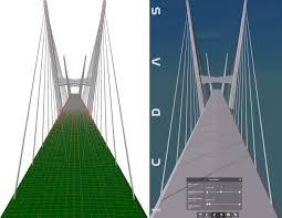 Suspension Bridge Model Design Icdas Dk 604306
