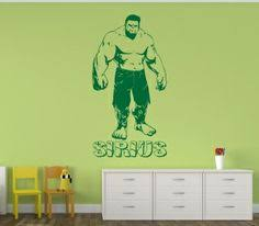 find great range bedroom. have marveu0027s hulk on your bedroom wall complete with personalised name stickerdecal find great range a