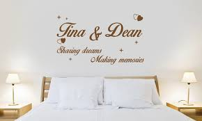 Small Picture Personalised Wall Stickers Groupon Goods