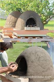 diy wood fired outdoor pizza oven with simple low cost materials also known ascob