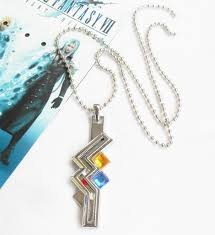 details about final fantasy xiii 13 lightning necklace pendant chain game cosplay gift