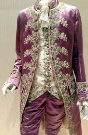 girls are taught to think pink but that wasn t always so wcai this embroidered pink silk coat was worn by a frenchman in the court of louis xvi in the 18th century