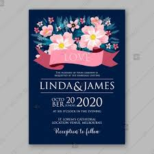 Pink Peony Wedding Invitation Template Design Valentines Day