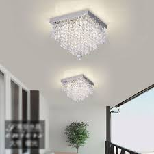 1 of 11free modern chrome crystal ceiling lights lamp fitting pendant chandelier hc