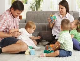 Resultado de imagen para familia creativa con niños