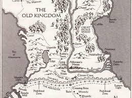 map of the old kingdom from garth nix s fantasy series