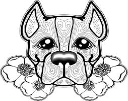 Printable dog coloring pages, coloring sheets and pictures for kids, children. Dog Coloring Pages For Adults Best Coloring Pages For Kids