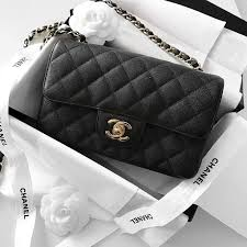 chanel bags black and white. chanel mini classic flap bag, black caviar leather | pinterest: @blancazh bags and white l