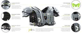 Xenith Xflexion Apex Ap Shoulder Pads