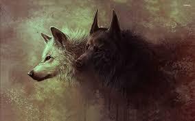 Cool Black Wolf Wallpapers on WallpaperDog